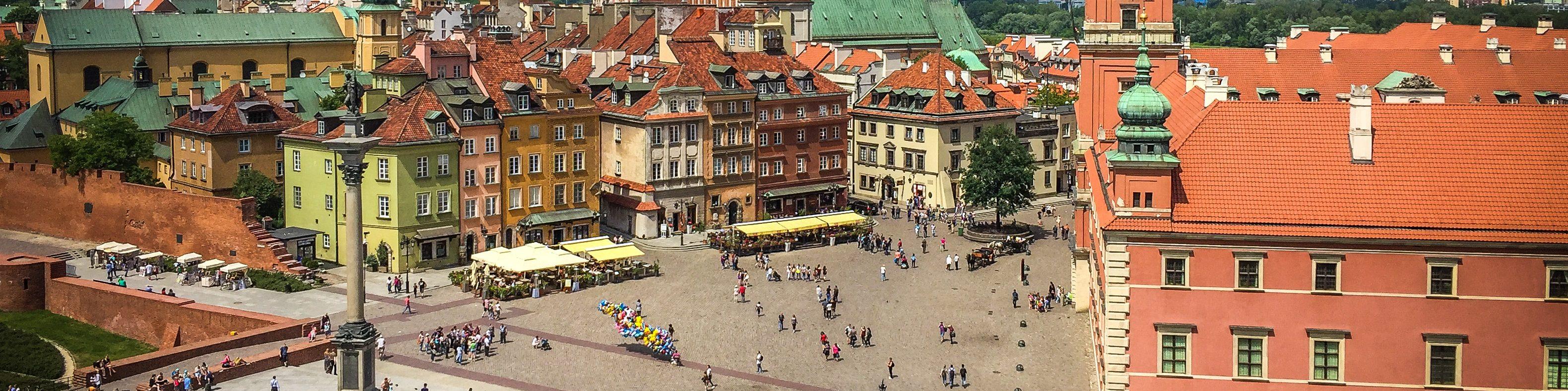 Евротур #3. Ч.17. Польша. Варшава.