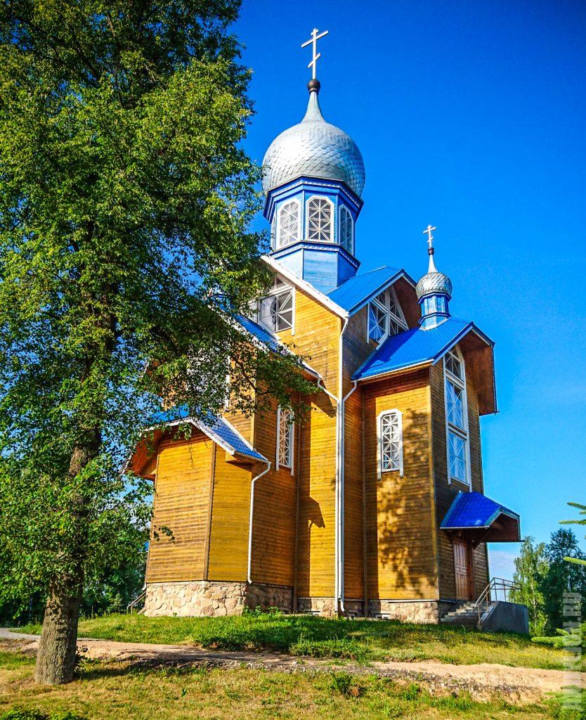 Свято-Георгиевский храм 2009 год. Каменюки.