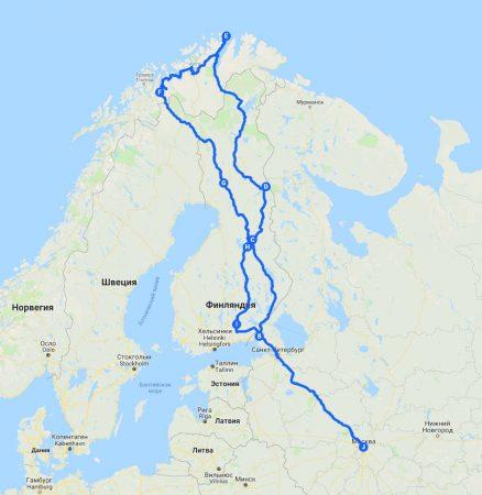 Скандинавская не/Меланхолия. Полный маршрут.