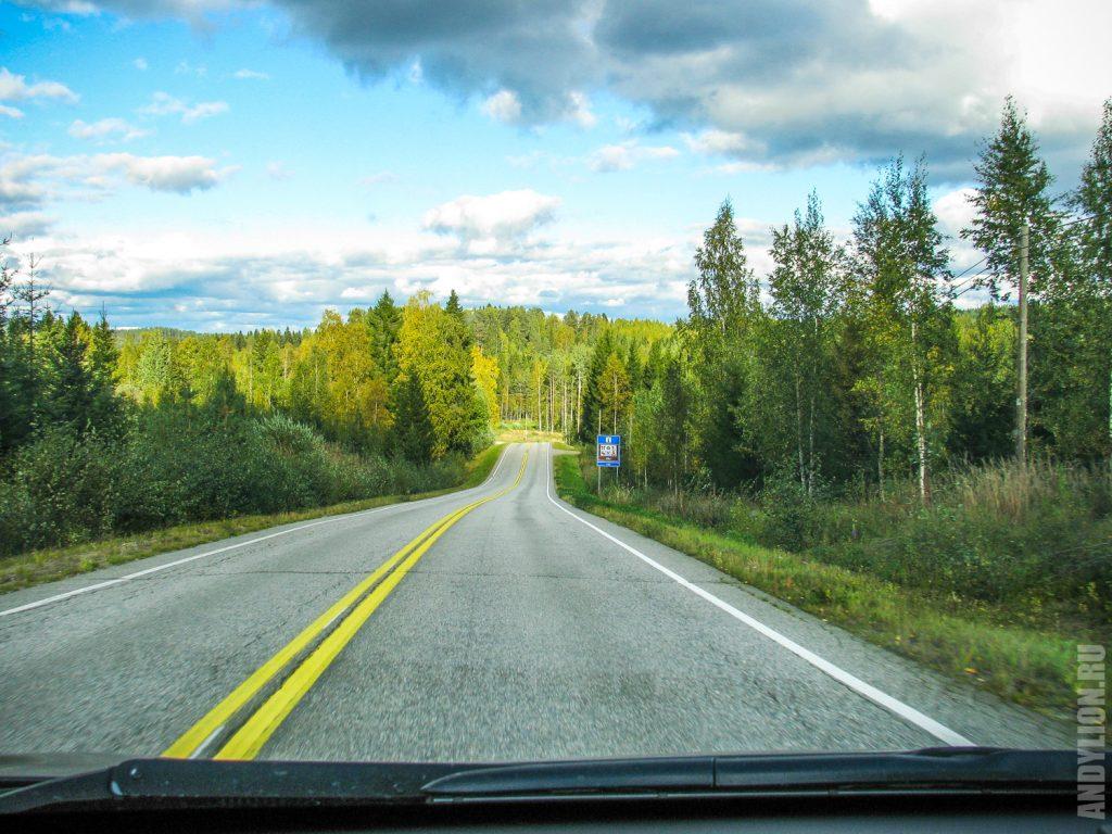 Дорога в национальный парк Коли