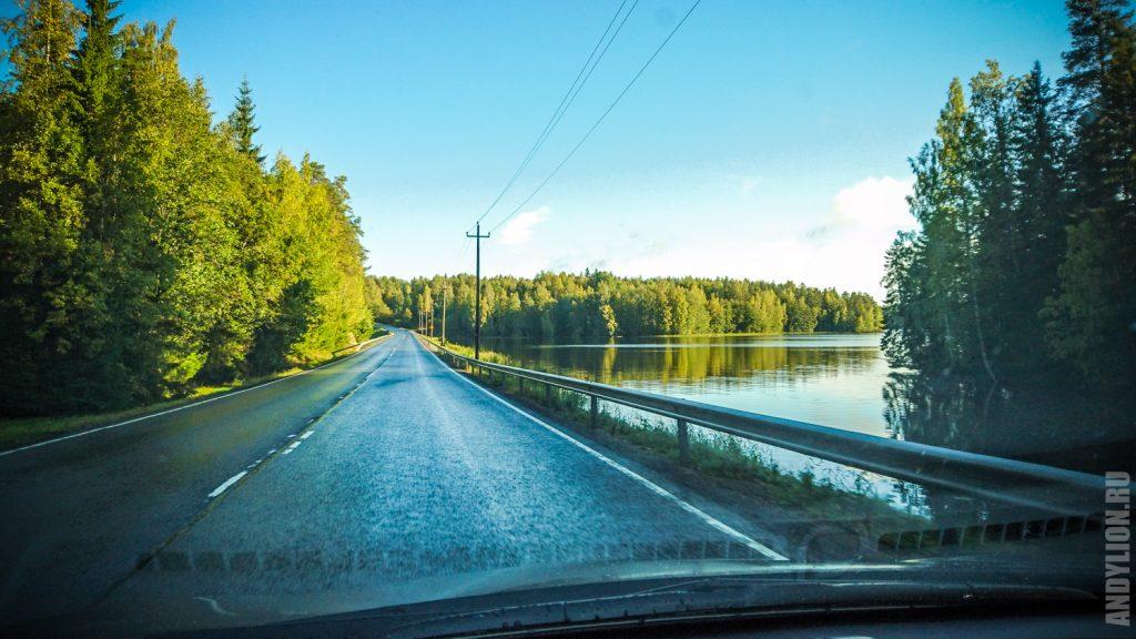 По дороге из Выбора в Финляндию