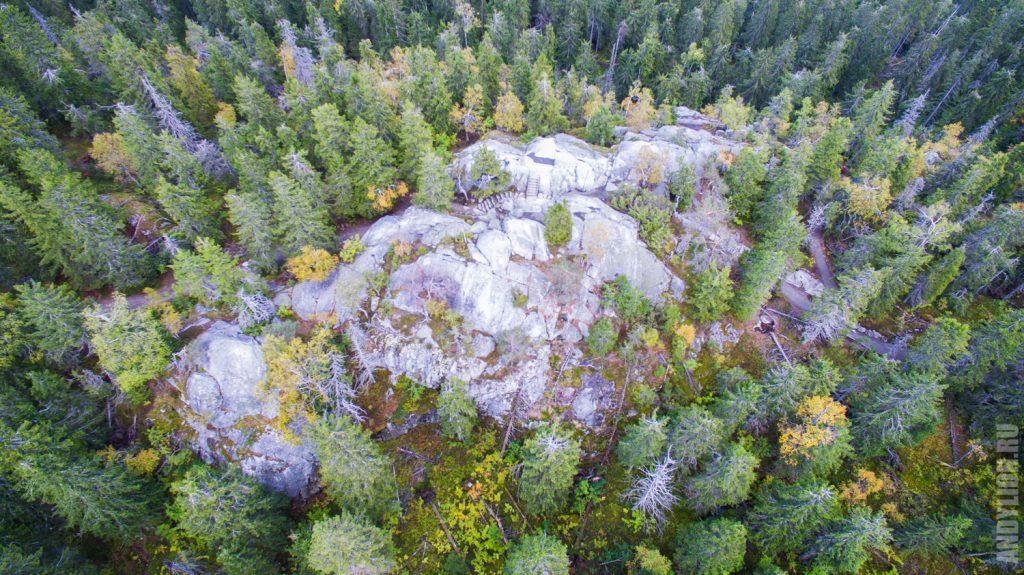 Вершина Укко-Коли в Финляндии