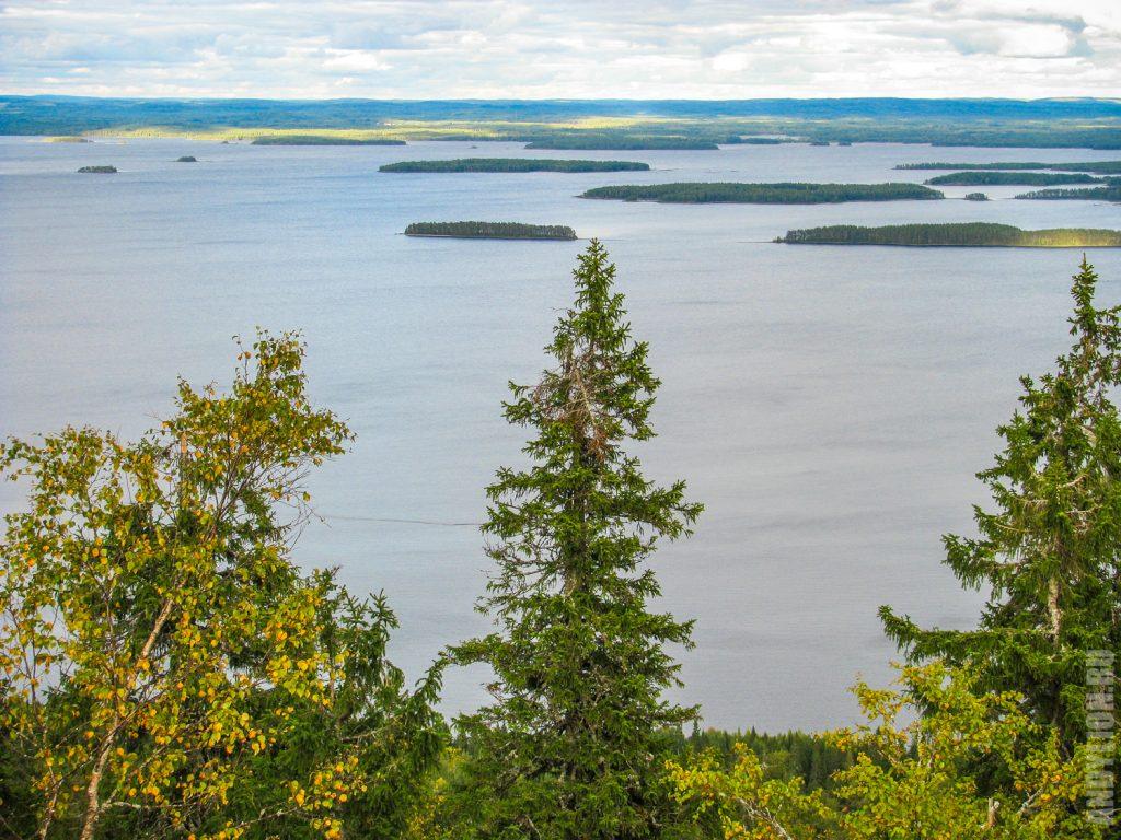 Озеро Пиелинен. Финляндия.