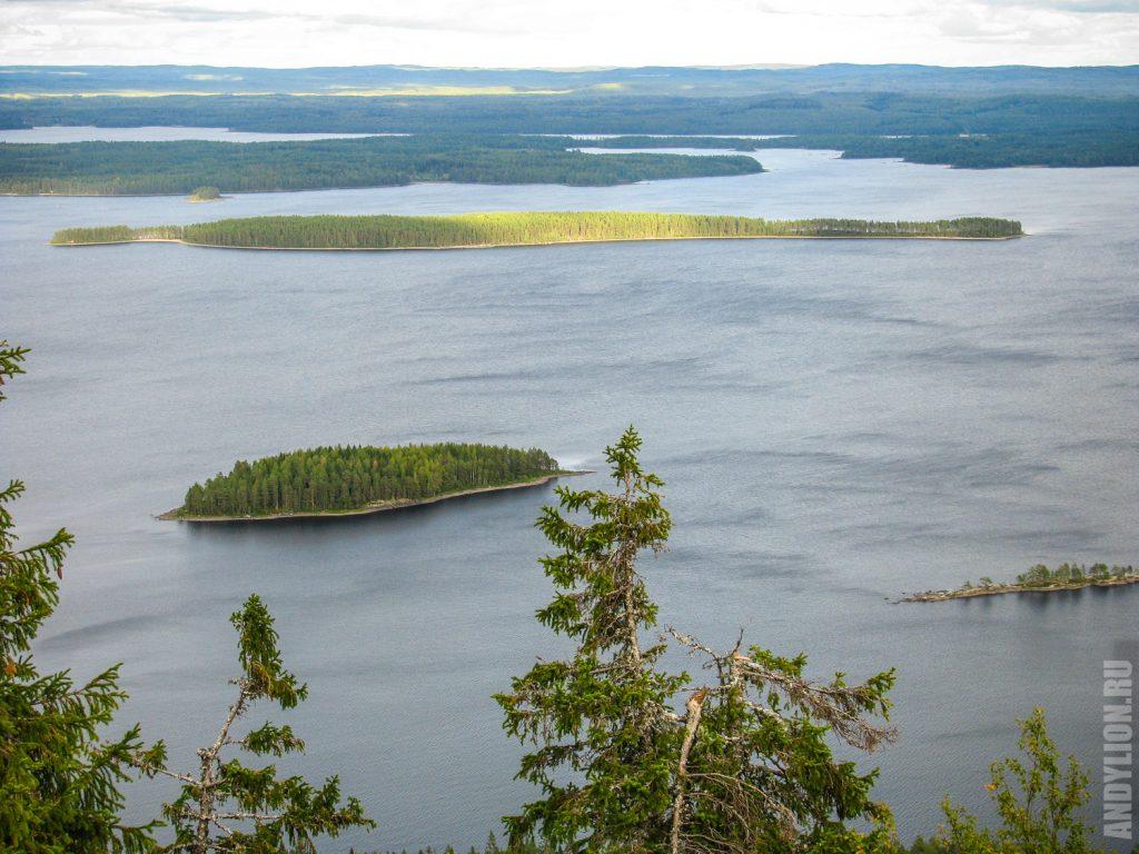 Озеро Пиелинен в Финляндии