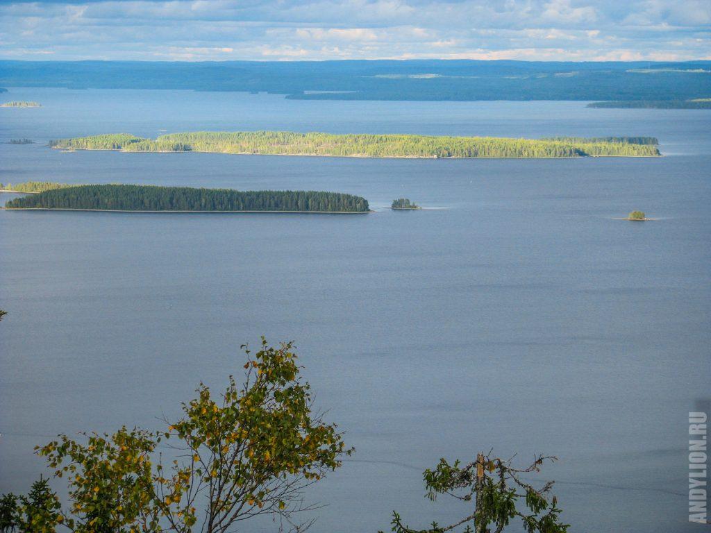 Озеро Пиелинен в Северной Карелии