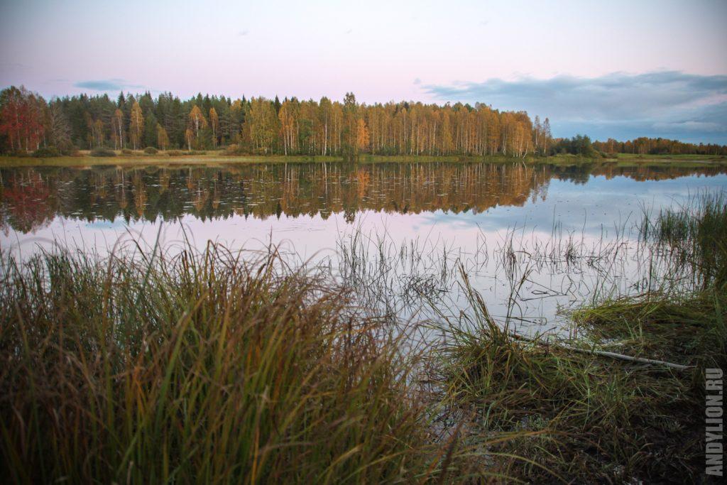 Озеро Липаслампи