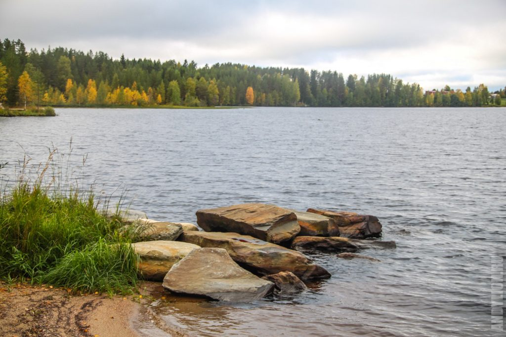 Озеро Ильярви Финляндия