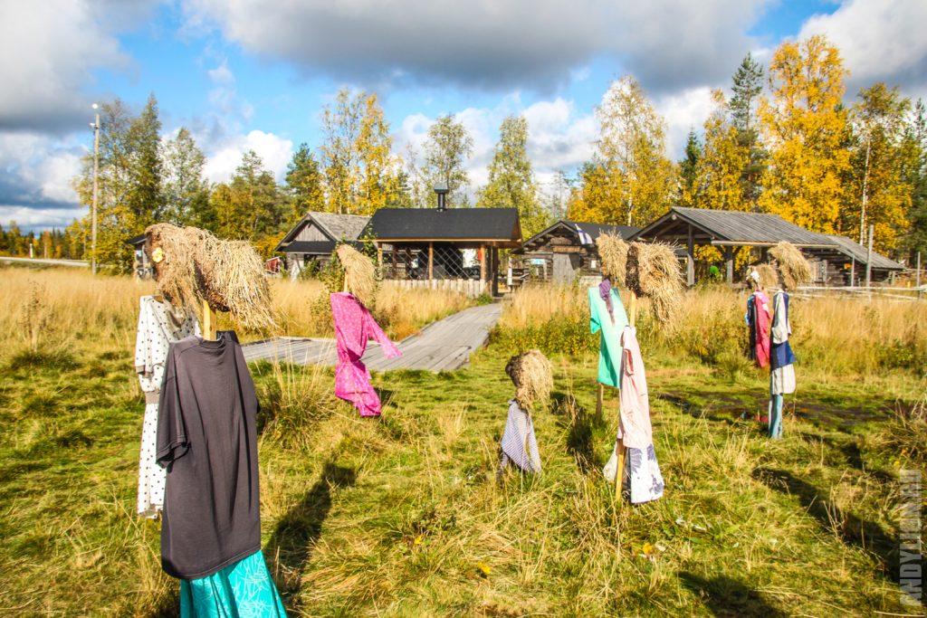 Инсталляция Тихий Народ в Финляндии