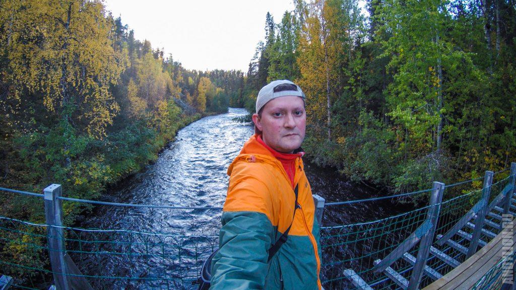 Река в национальном парке Оуланка