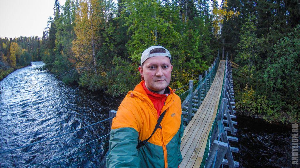 Andy Lion в Финляндии. Национальный парк Оуланка.