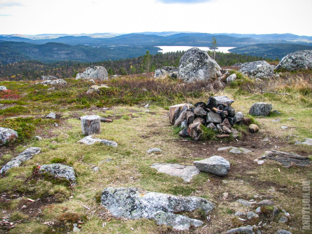Место для колки дров
