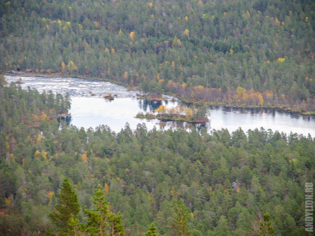 Вид на реку Juutuanjoki