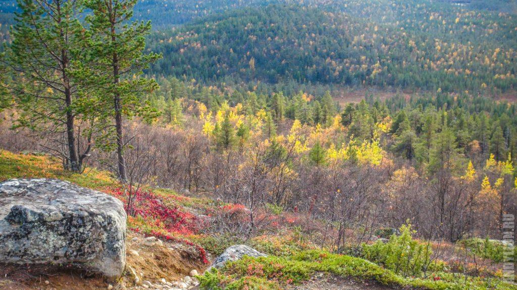 Лапландия осенью