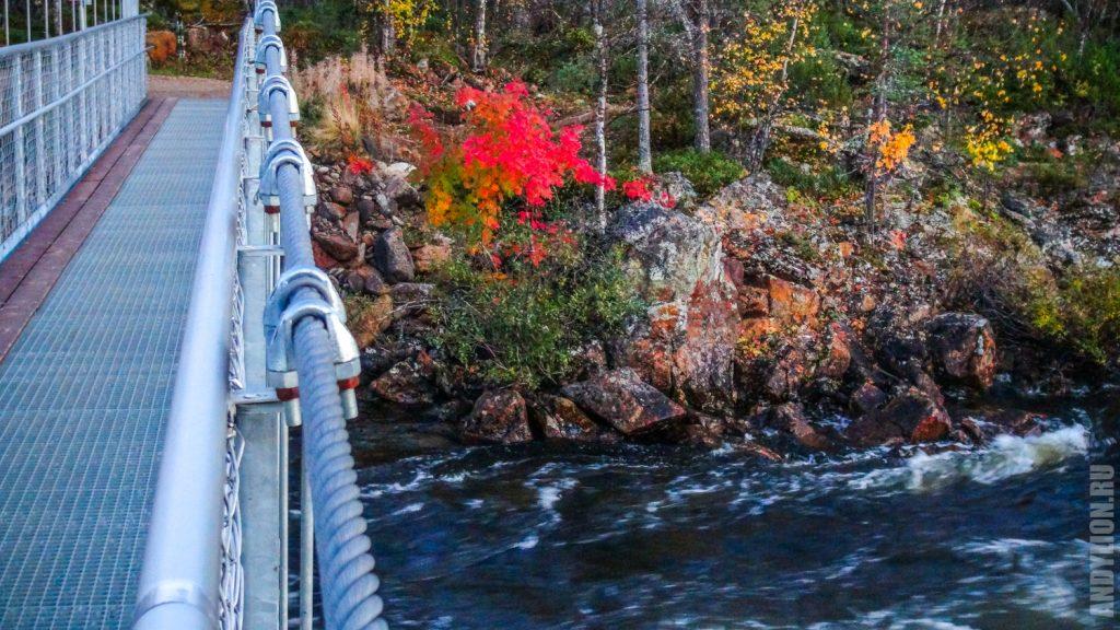 Осенние краски Лапландии