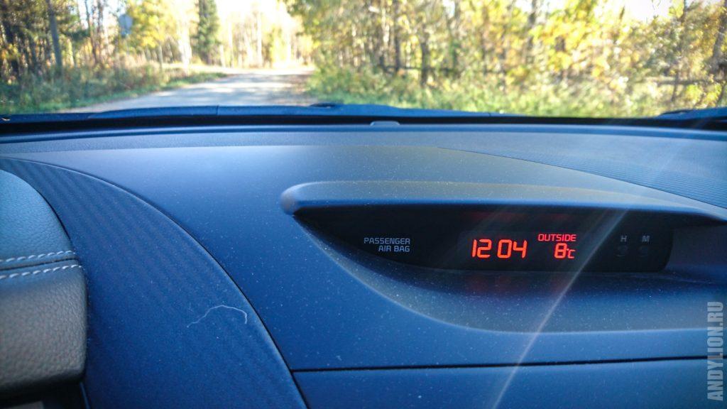 Температура 18 сентября в Ивало