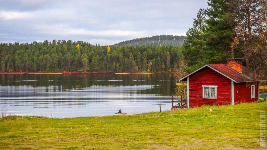 Озеро Juurakkojärvi в Финляндии