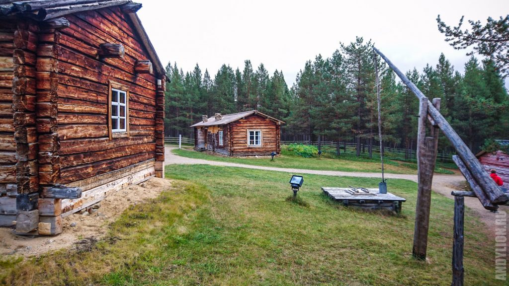 Деревня саамов