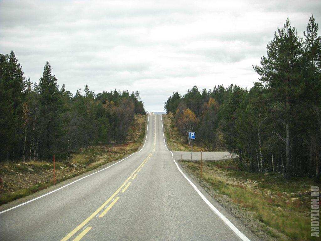 По Финляндии на машине осенью