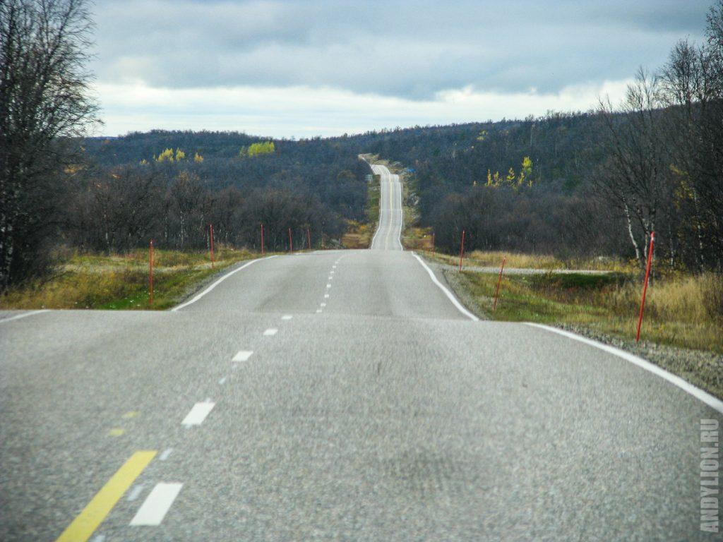 В Финляндию на машине. Осень. Сентябрь. Лапландия.