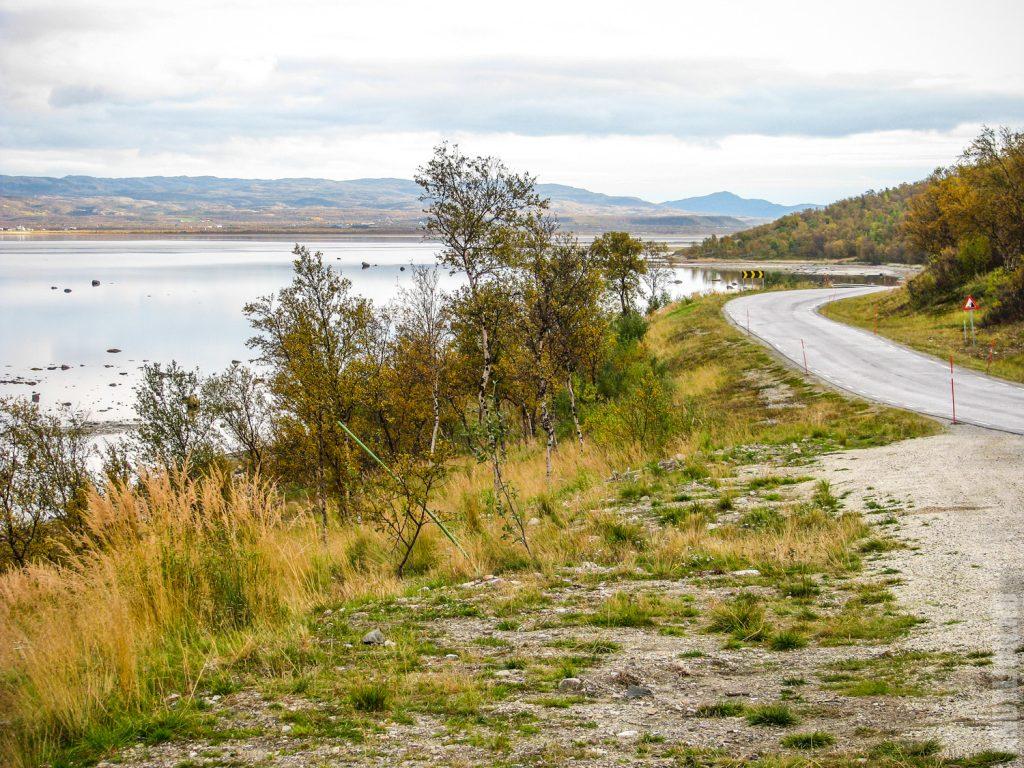 Южная часть Порсангер-фьорда