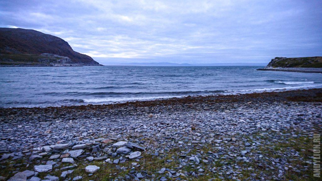 Порсангер-фьорд. Баренцево море.