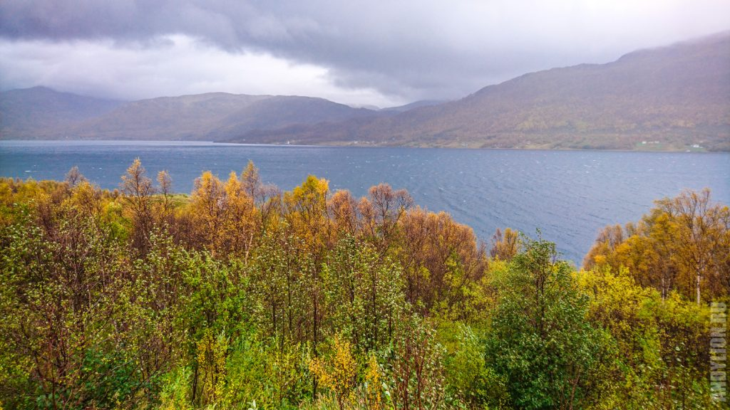 Пейзажи Норвегии на севере