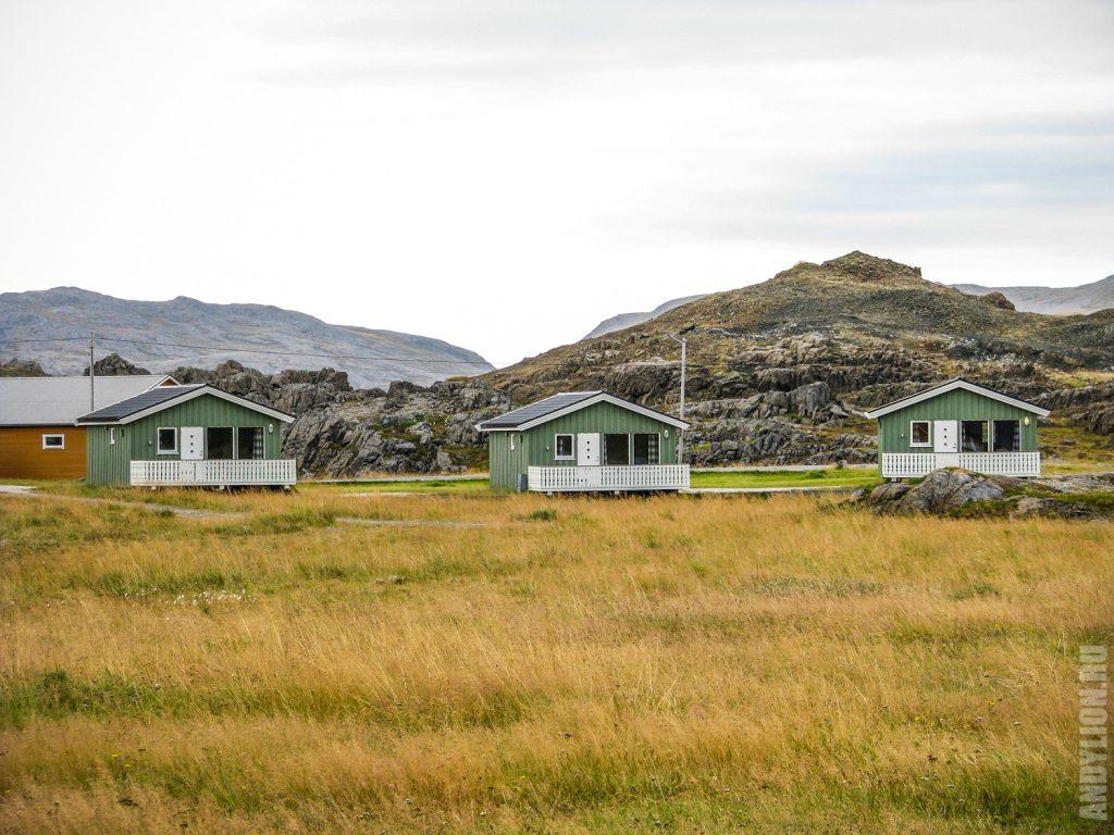 Nordkapp Camping. Коттеджи.