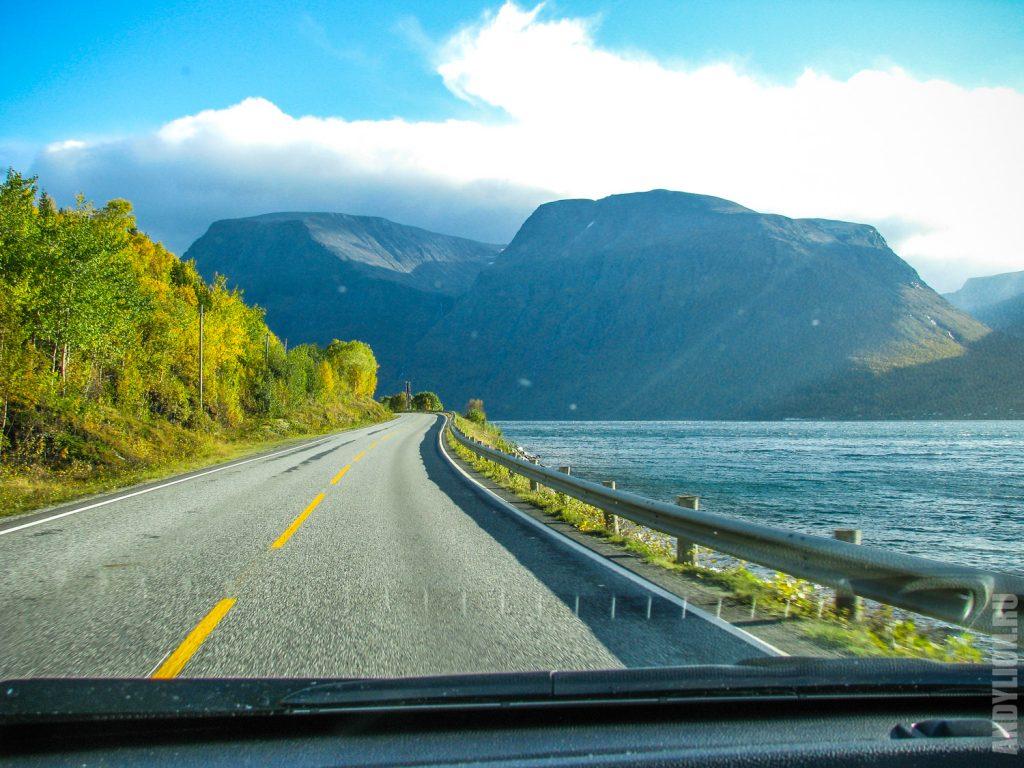 По фьордам Норвегии осенью