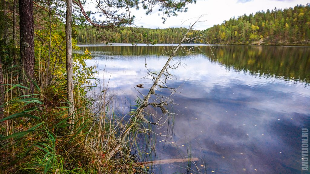 Озеро Valkjärvi