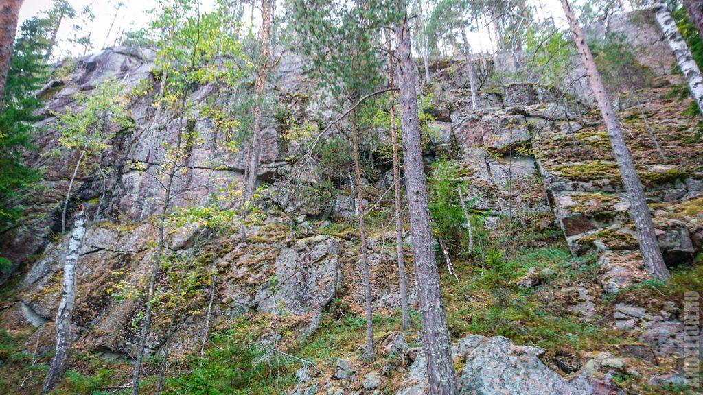 Скалы в парке Реповеси