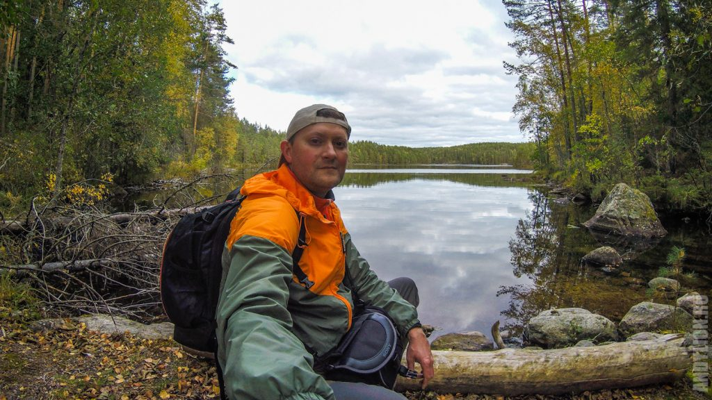 Andy Lion в нацпарке Реповеси. Озеро Valkjärvi