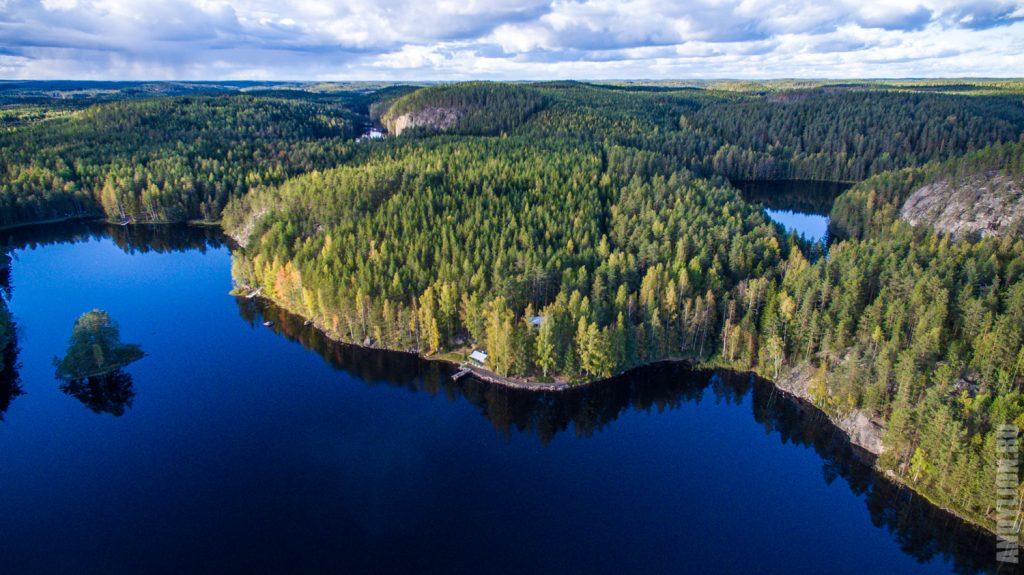 Национальный парк Реповеси с дрона