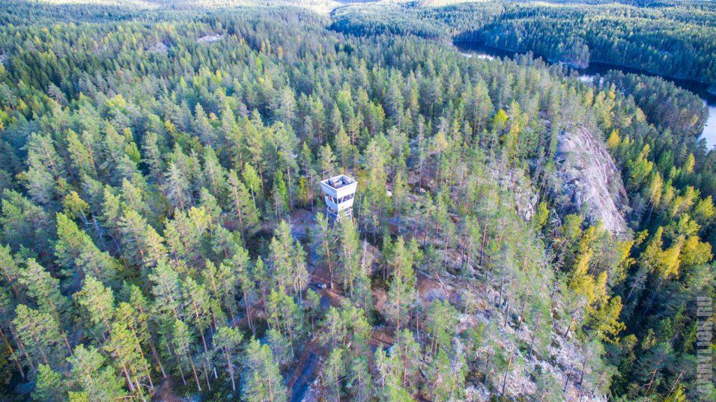 Национальный парк Реповеси с воздуха