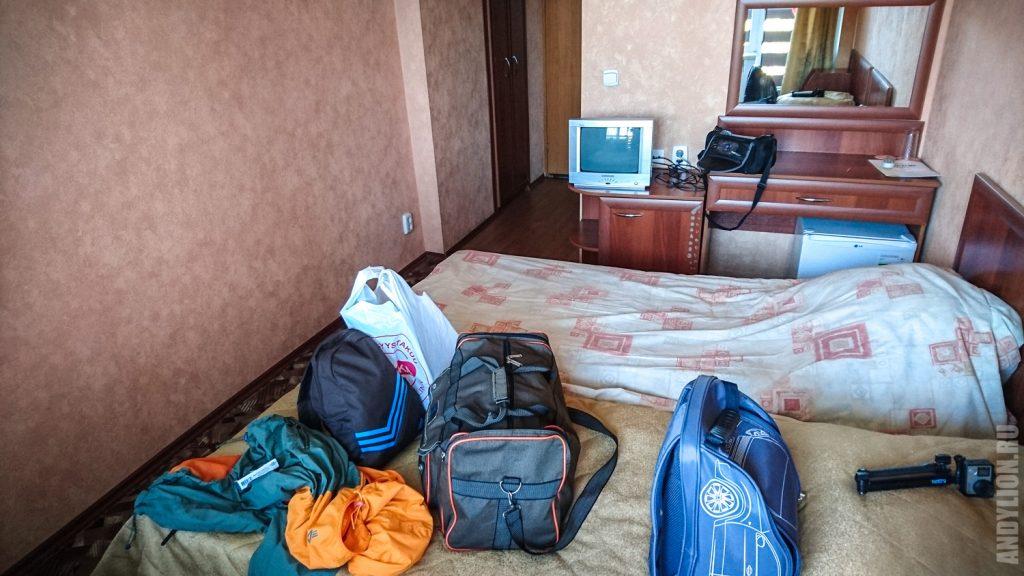 Номер в гостинице Репинская