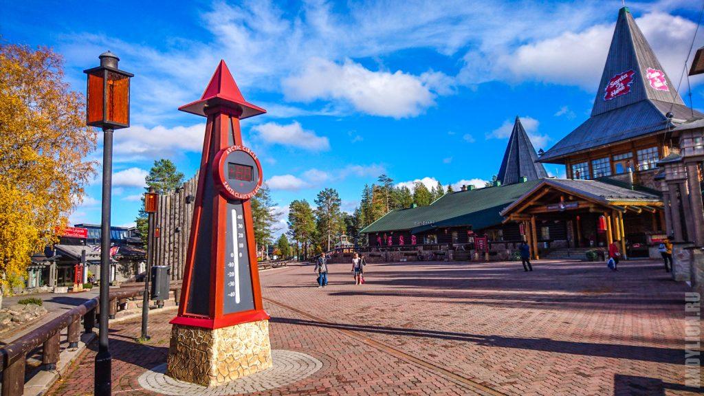 Деревня Санта-Клауса в Лапландии